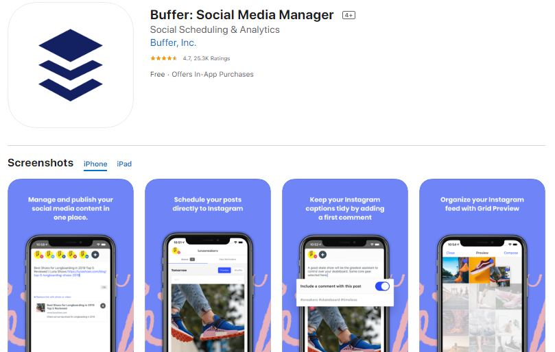 Buffer - Apps for Real Estate Agents