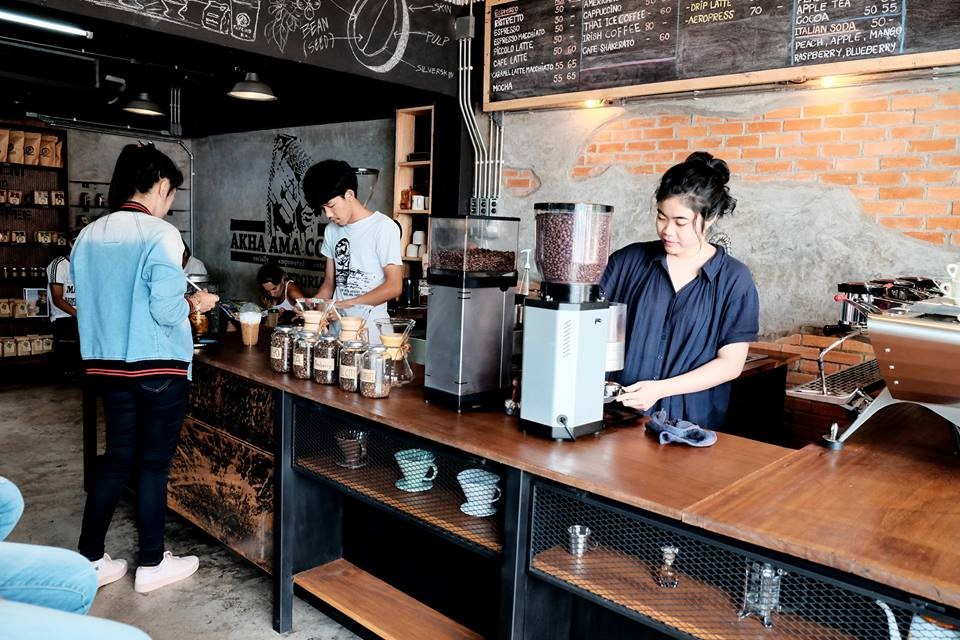Here's why you should visit coffee shops in Chiang Mai
