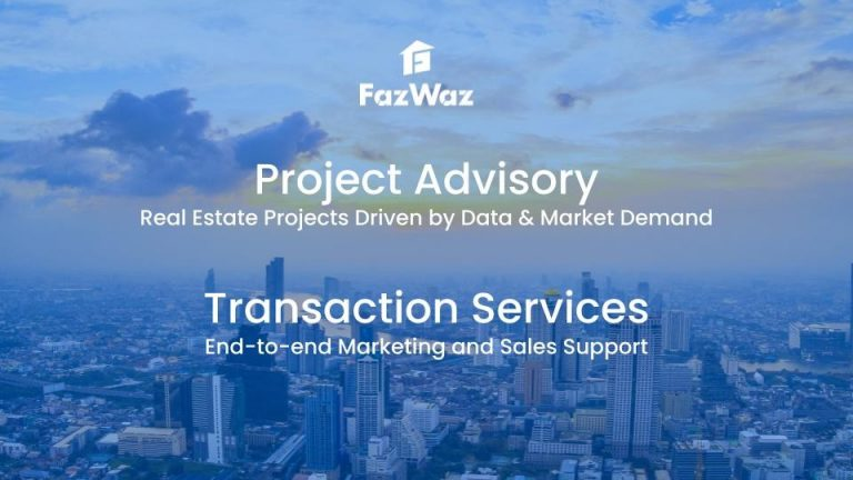 FazWaz launches Project advisory and Transaction services to support developers