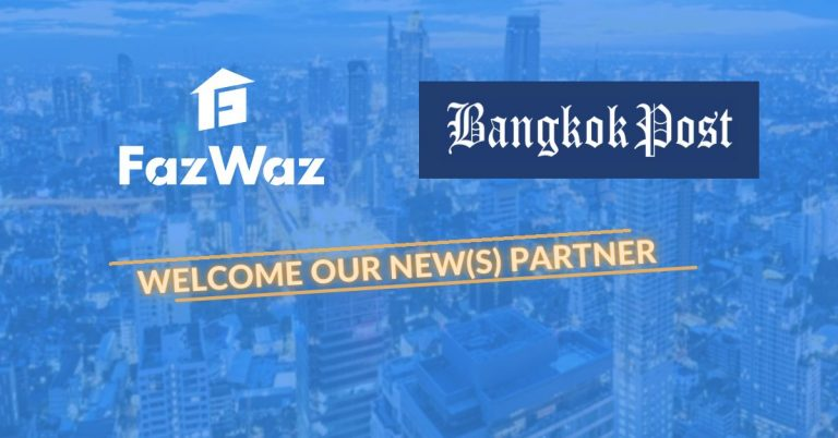 FazWaz teams up with Bangkok Post to power the exclusive property listing platform!