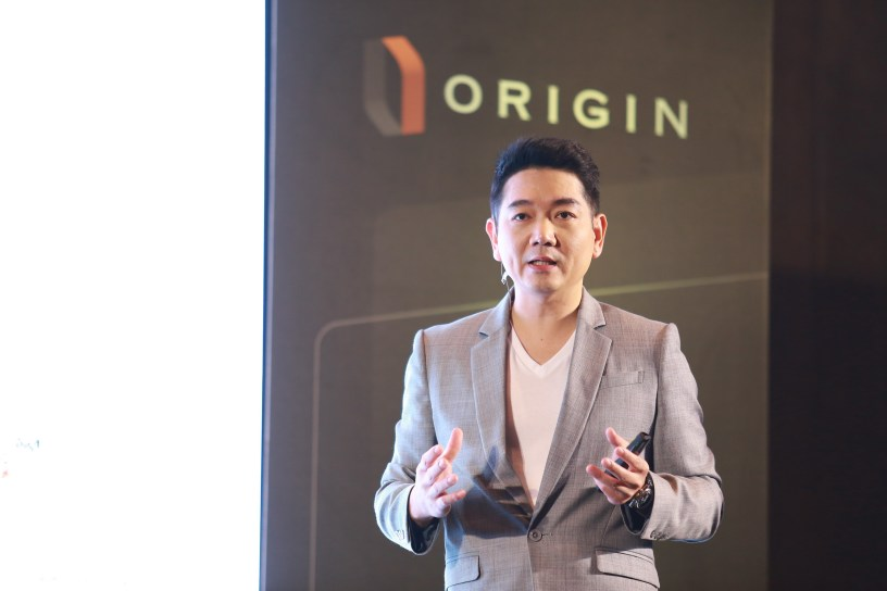 Peeraphong Jarooneak, a CEO of Origin Property,
