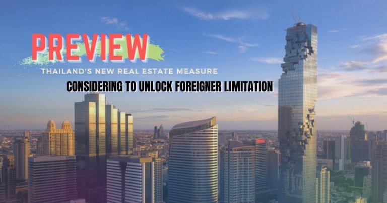 Preview Thailand's new real estate measures for foreign ownership